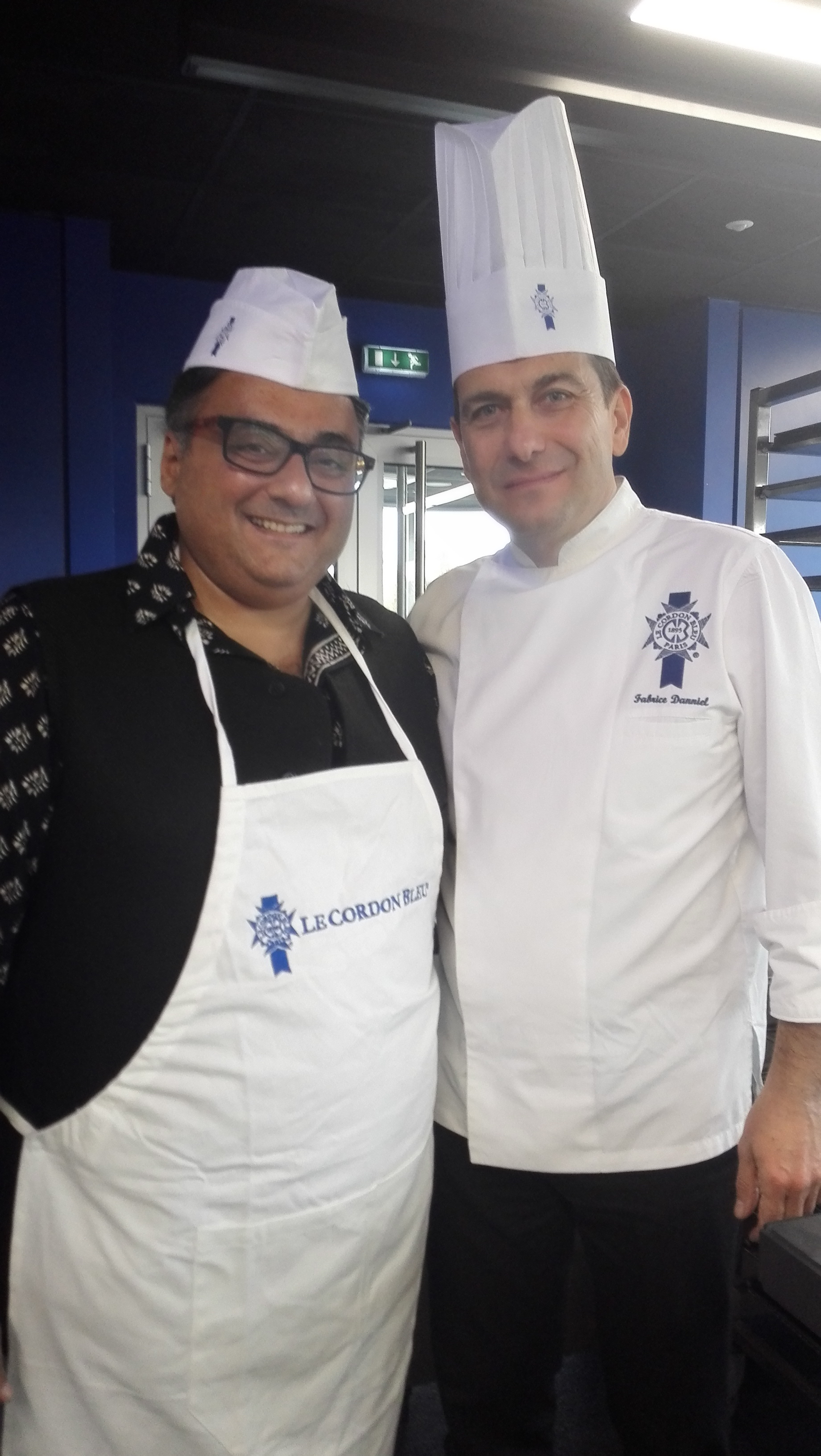 FAHAD AT LE CORDON BLEU